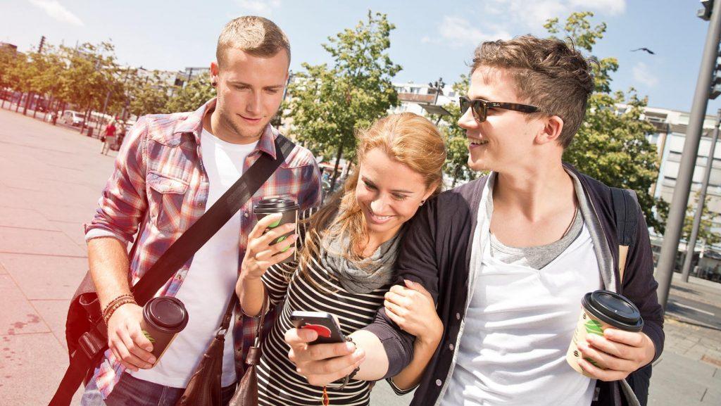 Die Finanzchecker-App hilft Jugendlichen, ihre Ausgaben zu kontrollieren.