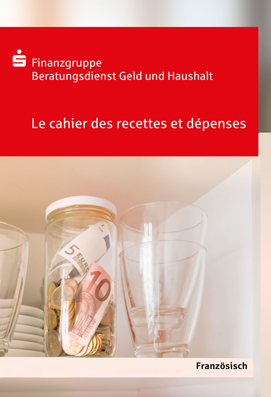 """Für Menschen mit geringen Deutschkenntnissen: """"Das einfache Haushaltsbuch"""" in Französisch.."""