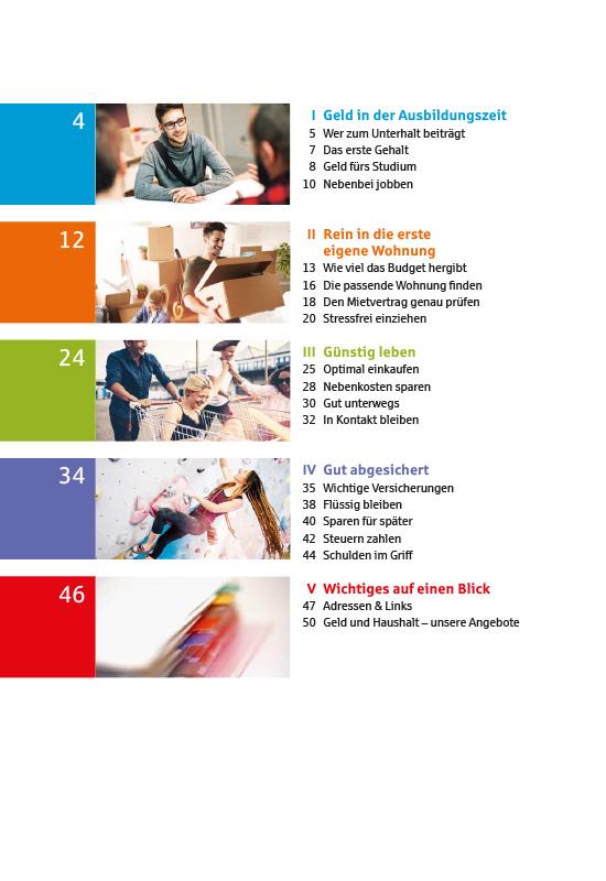 Budgetkompass für junge Haushalte