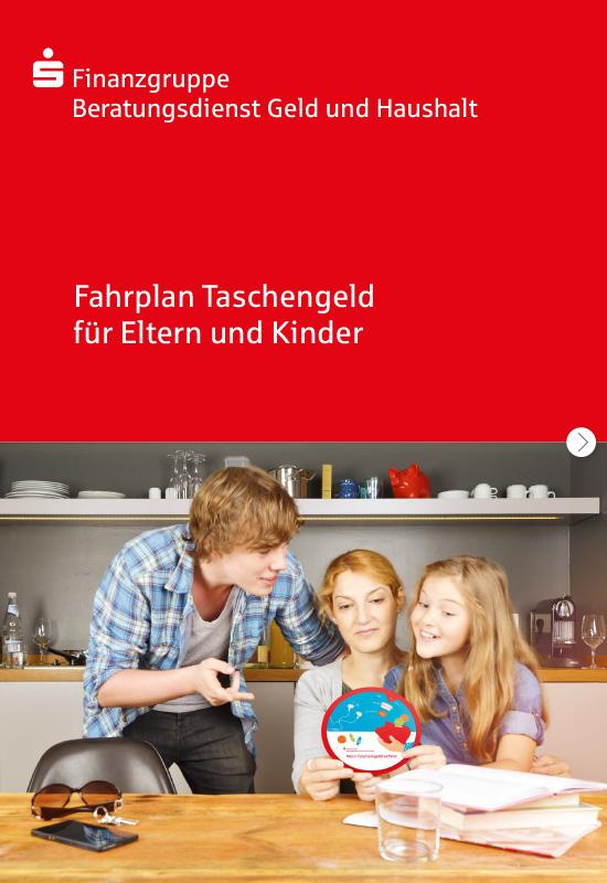 Der Beratungsdienst Geld und Haushalt bietet kostenlos den 'Fahrplan Taschengeld für Eltern und Kinder' an.