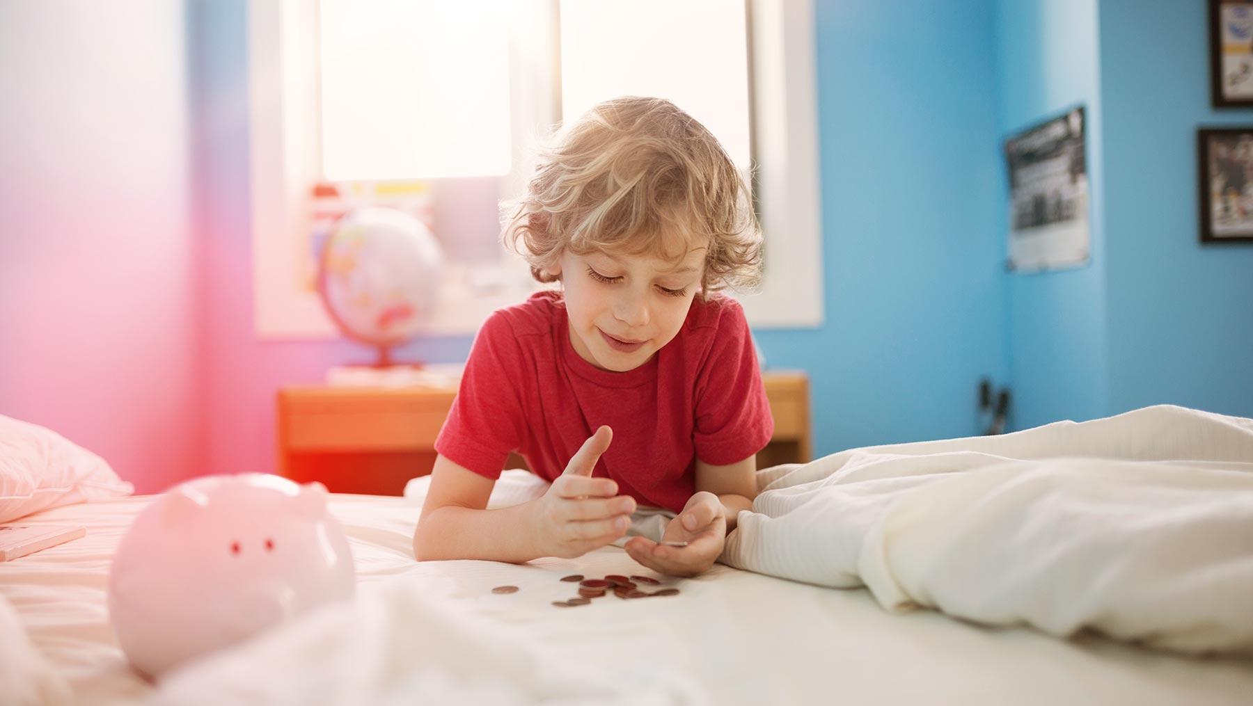 Ab wann soll mein Kind Taschengeld erhalten – und wie viel?