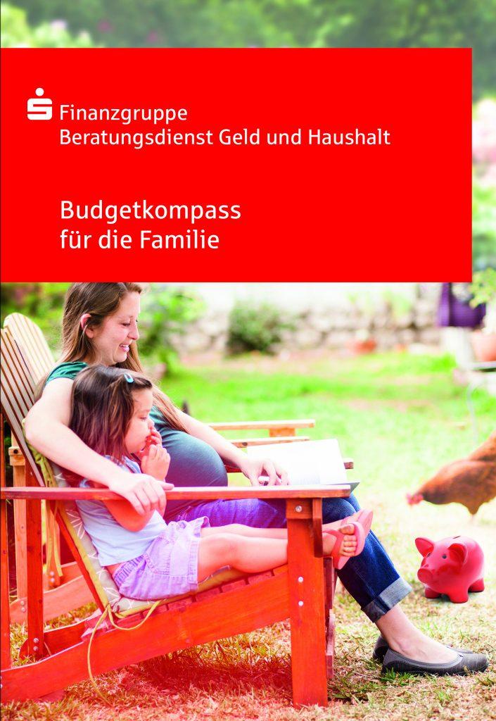 Pressefoto Ratgeber 'Budgetkompass für die Familie'.
