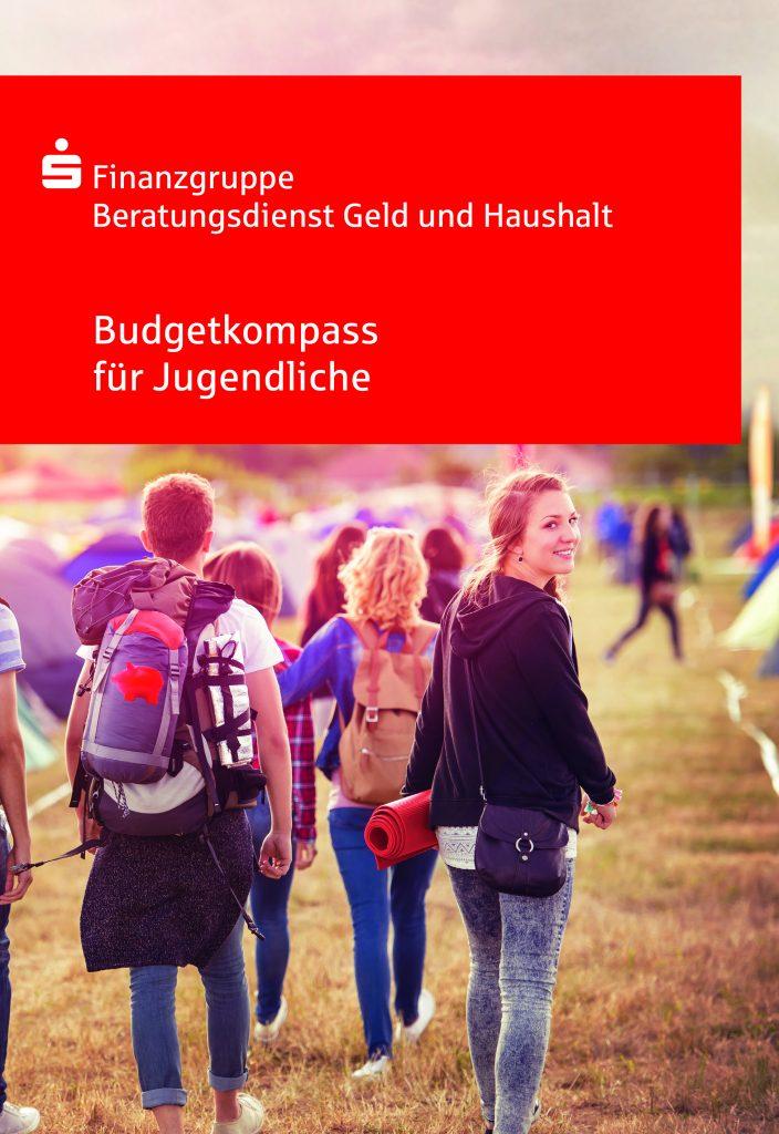 Pressefoto Ratgeber 'Budgetkompass für Jugendliche'.