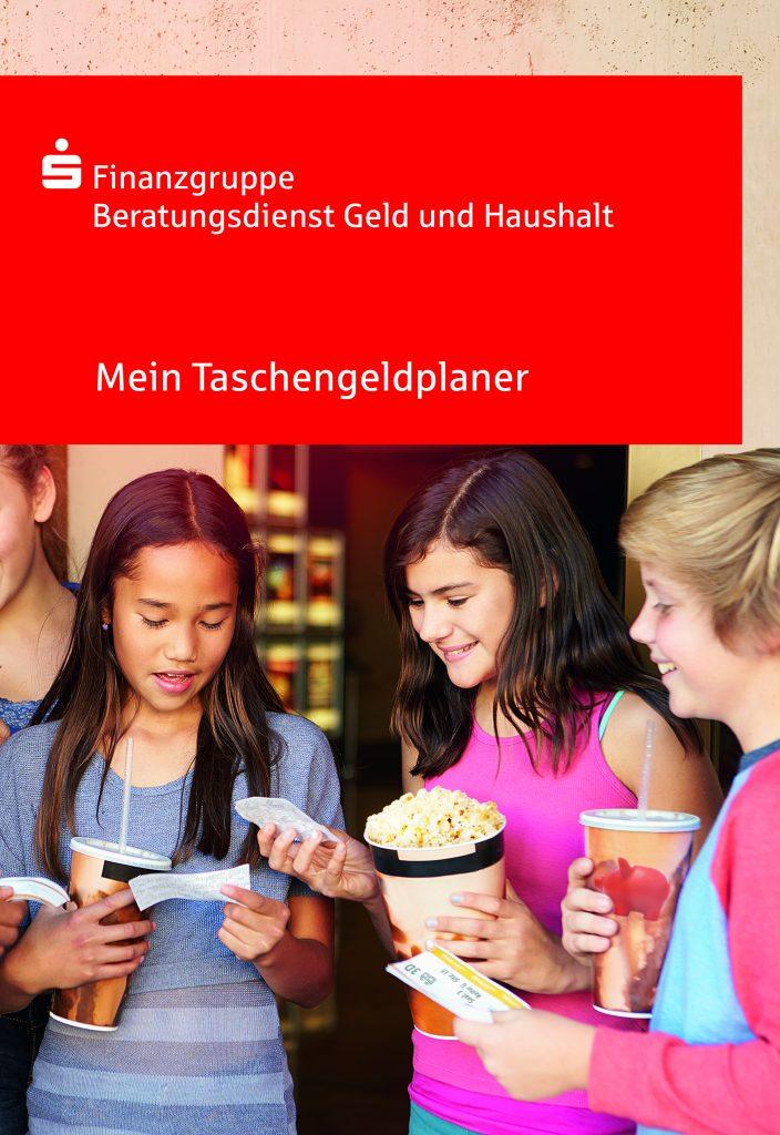 Pressefoto Ratgeber 'Mein Taschengeldplaner'.