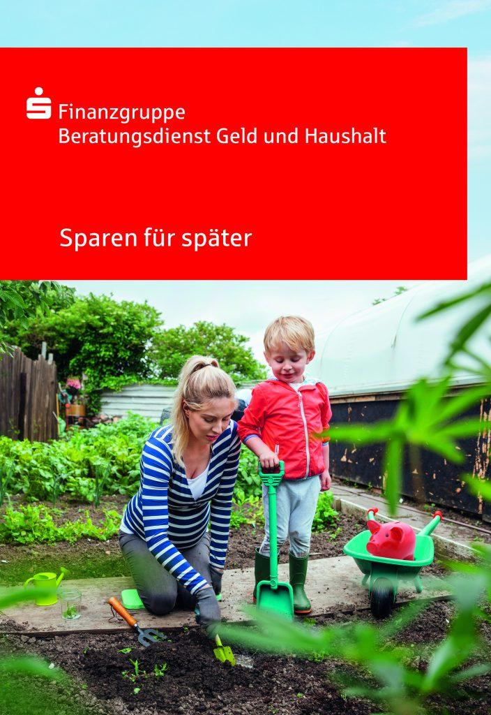 Pressefoto Ratgeber 'Sparen für später'.