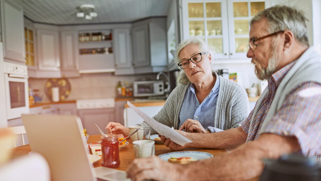 Wenn die Rente das neue Einkommen ist
