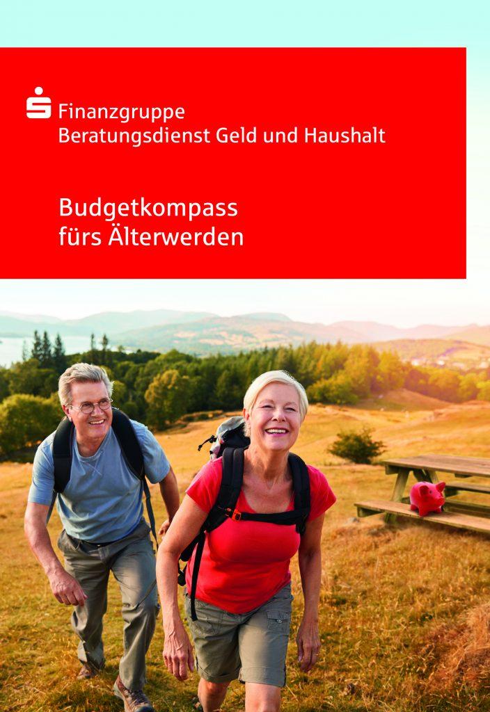 Pressefoto: Titelbild des kostenlosen Ratgebers Budgetkompass fürs Älterwerden