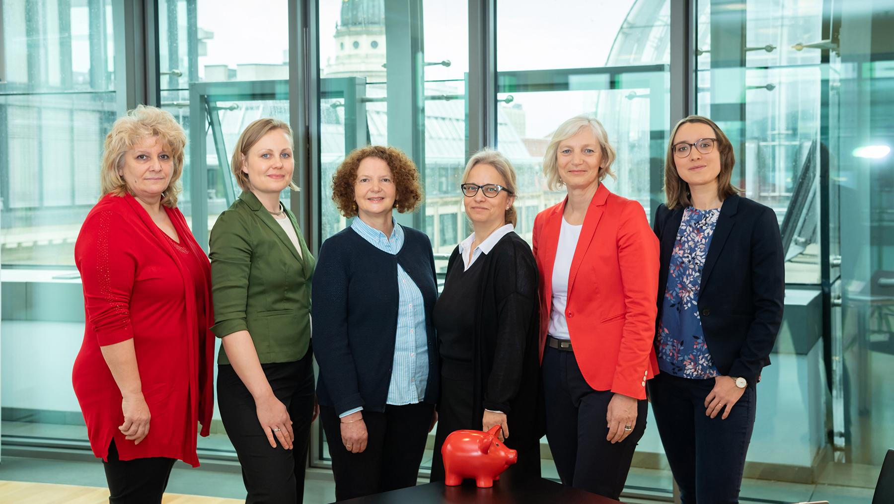 Das Team vom Beratungsdienst Geld und Haushalt