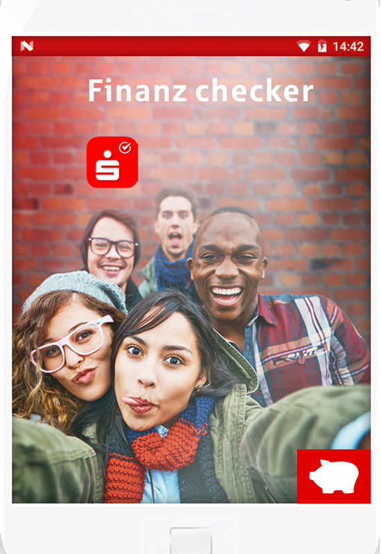 Flyer Finanzchecker-App
