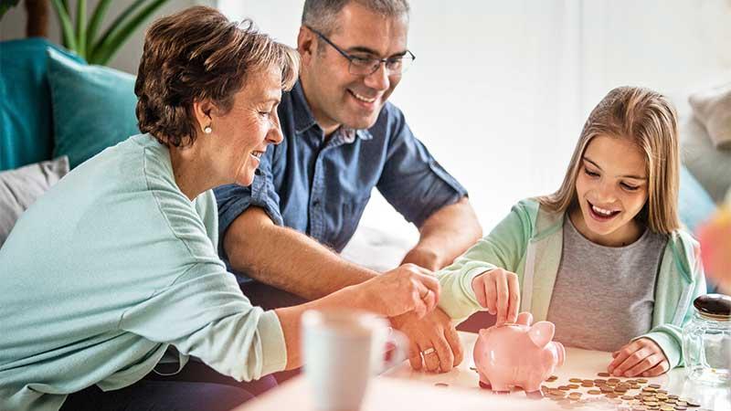 Der kostenfreie Vortragsservice von Geld und Haushalt: Mit Kindern über Geld reden