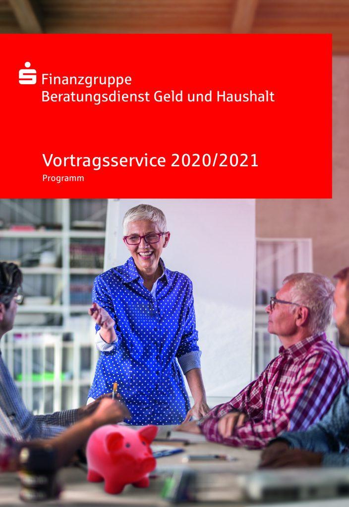Der kostenlose Vortragsservice 2020/2021 vom Beratungsdienst Geld und Haushalt.