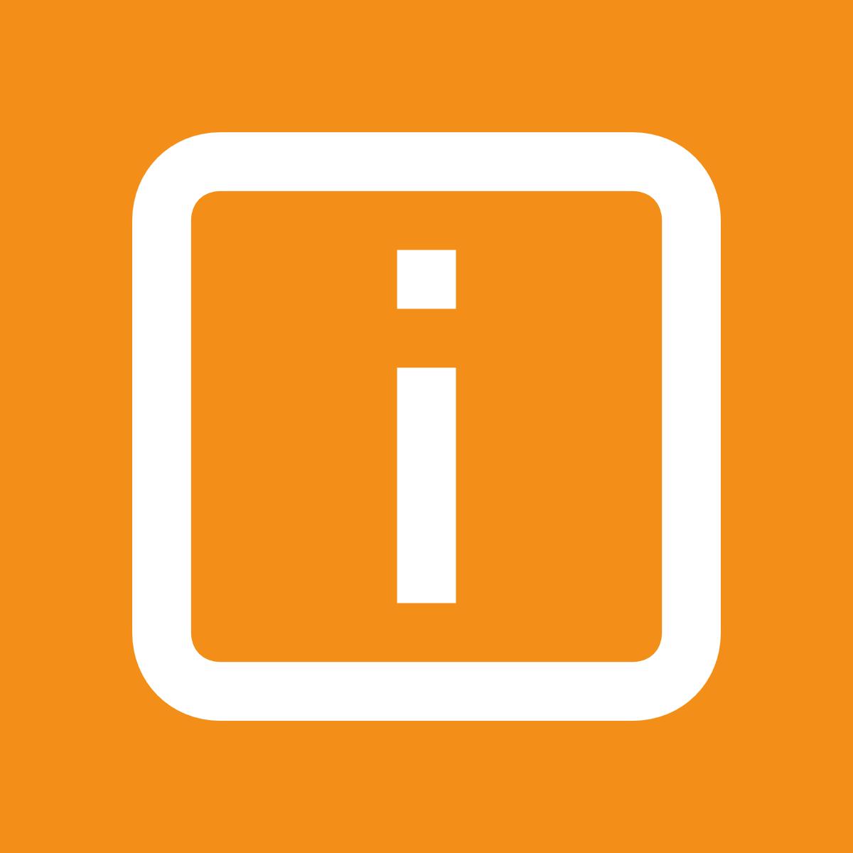 Informations-Icon für die Veranstaltungsbedingungen des Vortragsservice