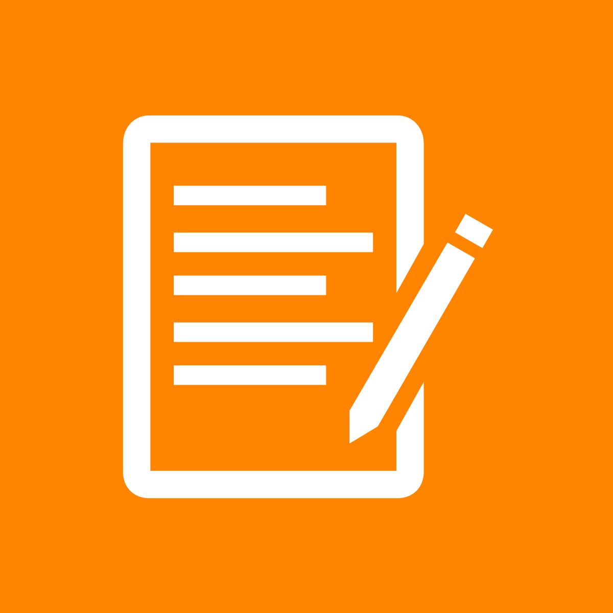 Icon für Formulare