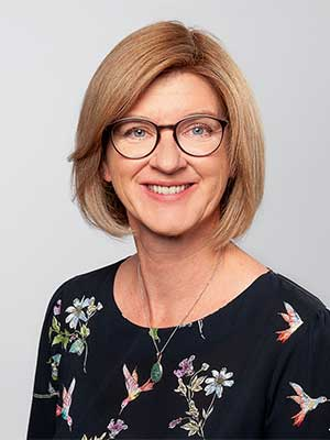 Michaela Bahlmann ist Referentin beim Vortragsservice von Geld und Haushalt.