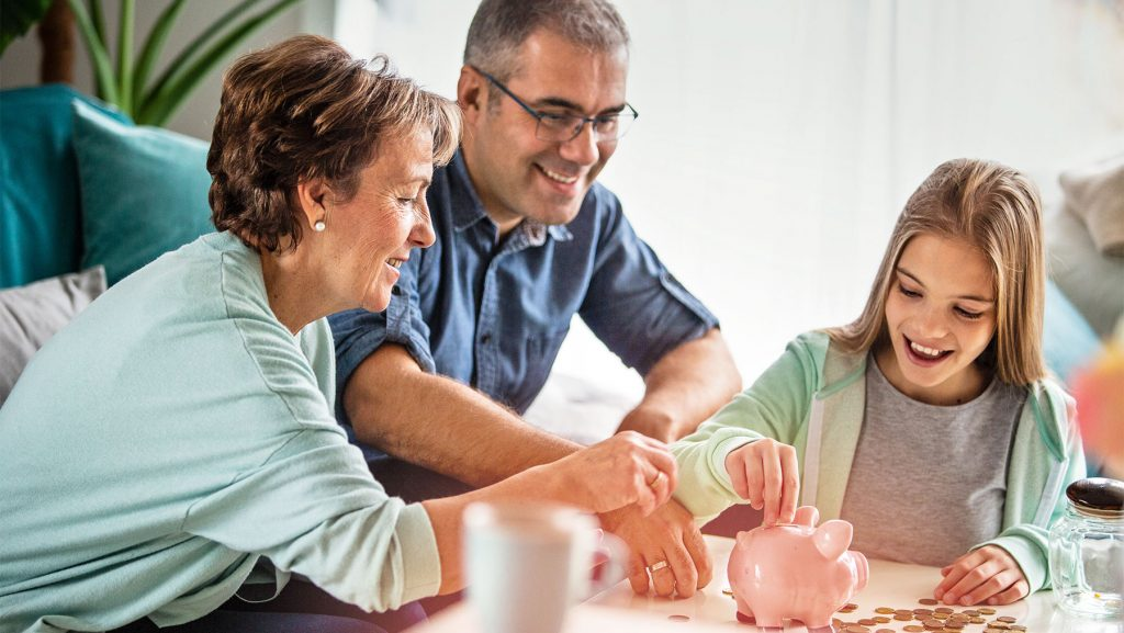 Mit Kindern über Geld reden